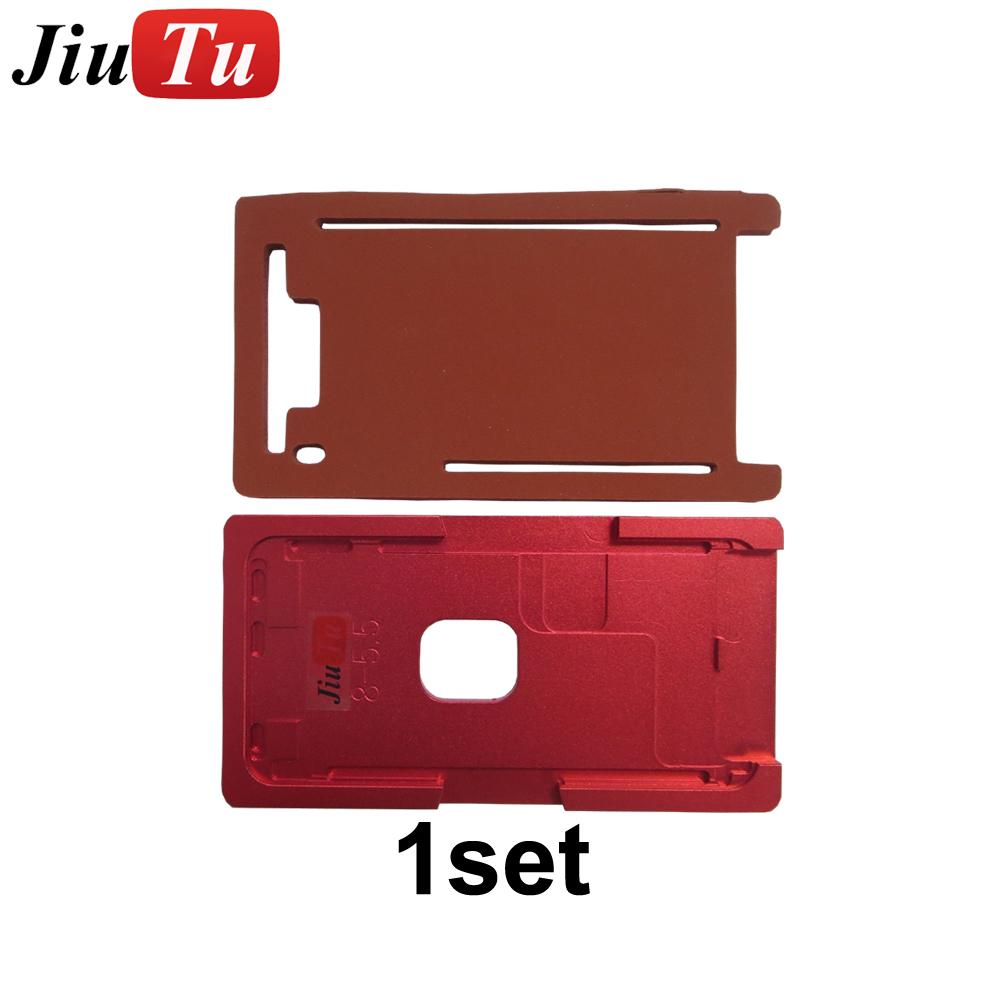 for iPhone 6 6Plus 6s 6sPlus LCD Metal Alignment Mold OCA Vacuum Lamination Rubber Pad
