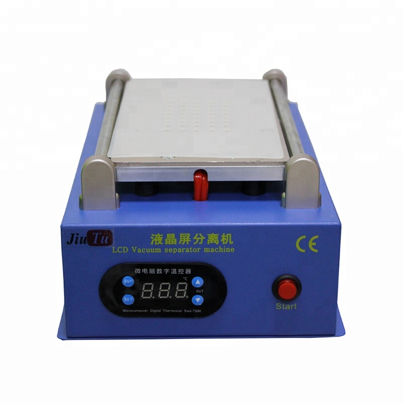 Jiutu Professional Hot Plate 7inch Lcd Screen Separator Machine with Vacuum Pump LCD Refurbish Machine
