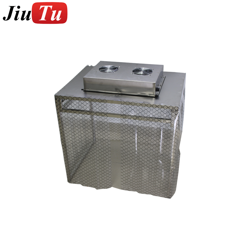 Bottom price Lcd Vacuum Laminating Machine - Middle Size Dust-Free Cleaning Room with Free Fan Filter Unit For Mobile Phone/iPad Broken Glass LCD Refurbish Repair – Jiutu