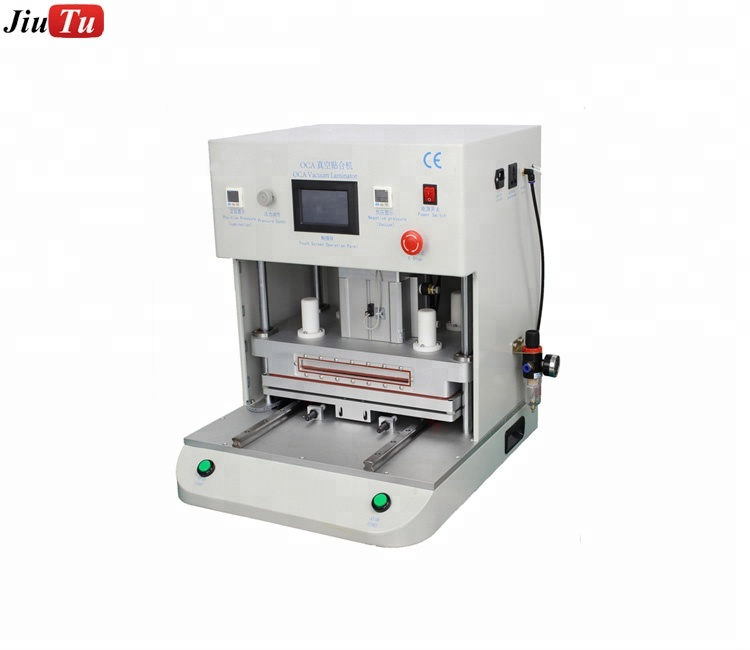 Reliable Supplier Glass With Frame For Iphone 8 - 16 inch Large Working Area OCA Vacuum laminating machine for ipad – Jiutu
