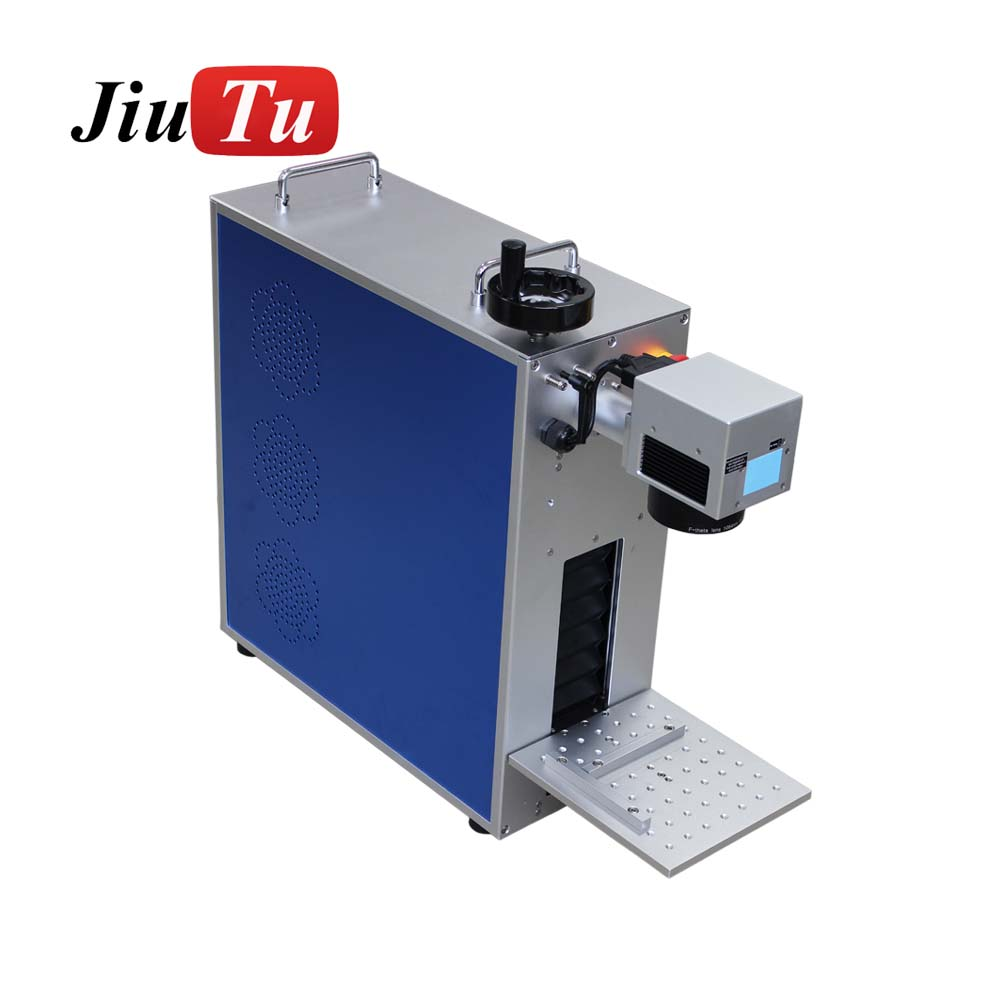 Portable Fiber Laser Marking Machine For Phone Metal Engraving