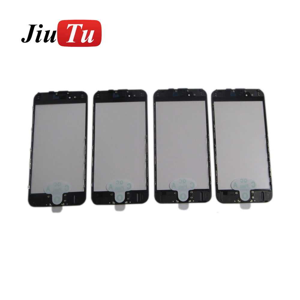 Front Glass Lens Bezel Frame Assembly for Pone 6s 4.7 Outer Screen Touch Panel Repair Replacement