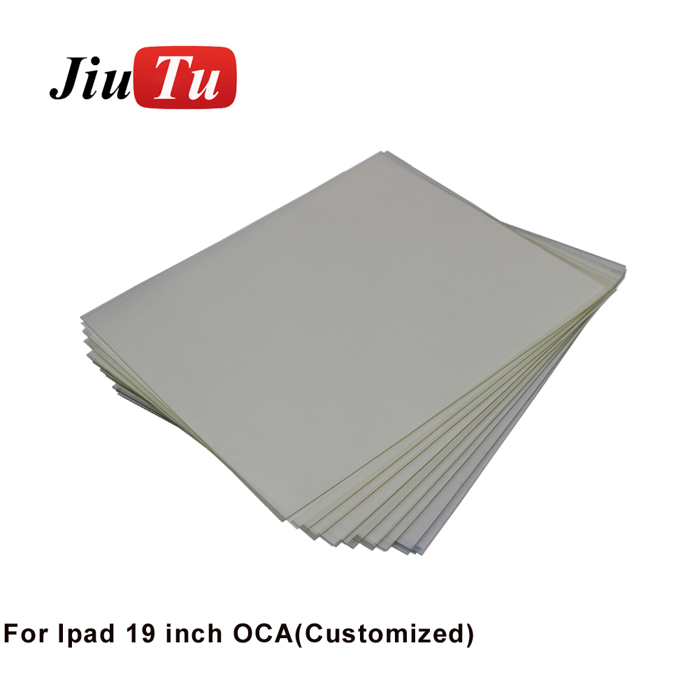 8 Year Exporter Lamination Machine - 1200um Big Customized OCA Film For iPad Large LCD Screen Double Side Sticker For LCD/Digitizer Glass Repair Jiutu – Jiutu