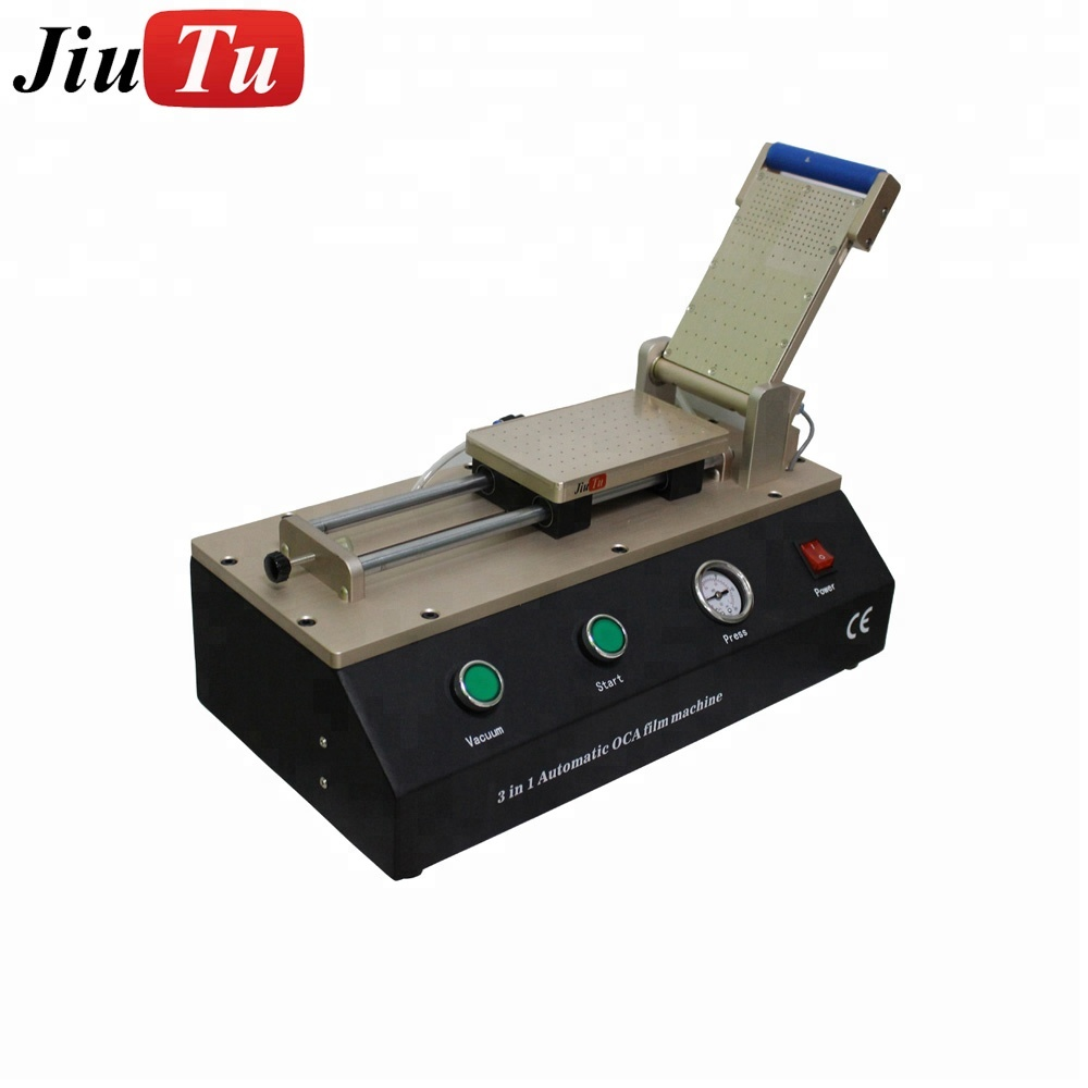 3 in 1 Automatic Vacuum OCA polarizer film Lamination Machine For Phone Lcd Screen Refurbish