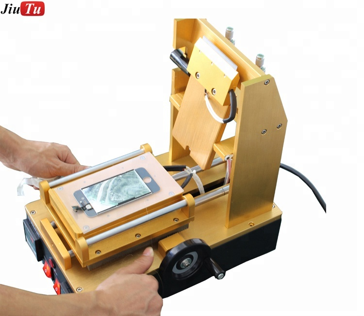 9TU-M023 Cell Phone Polarizer/LOCA OCA Adhesive Glue Removing + LCD Pre-heat Separator with Pump Inside 220V Refurbish Machine