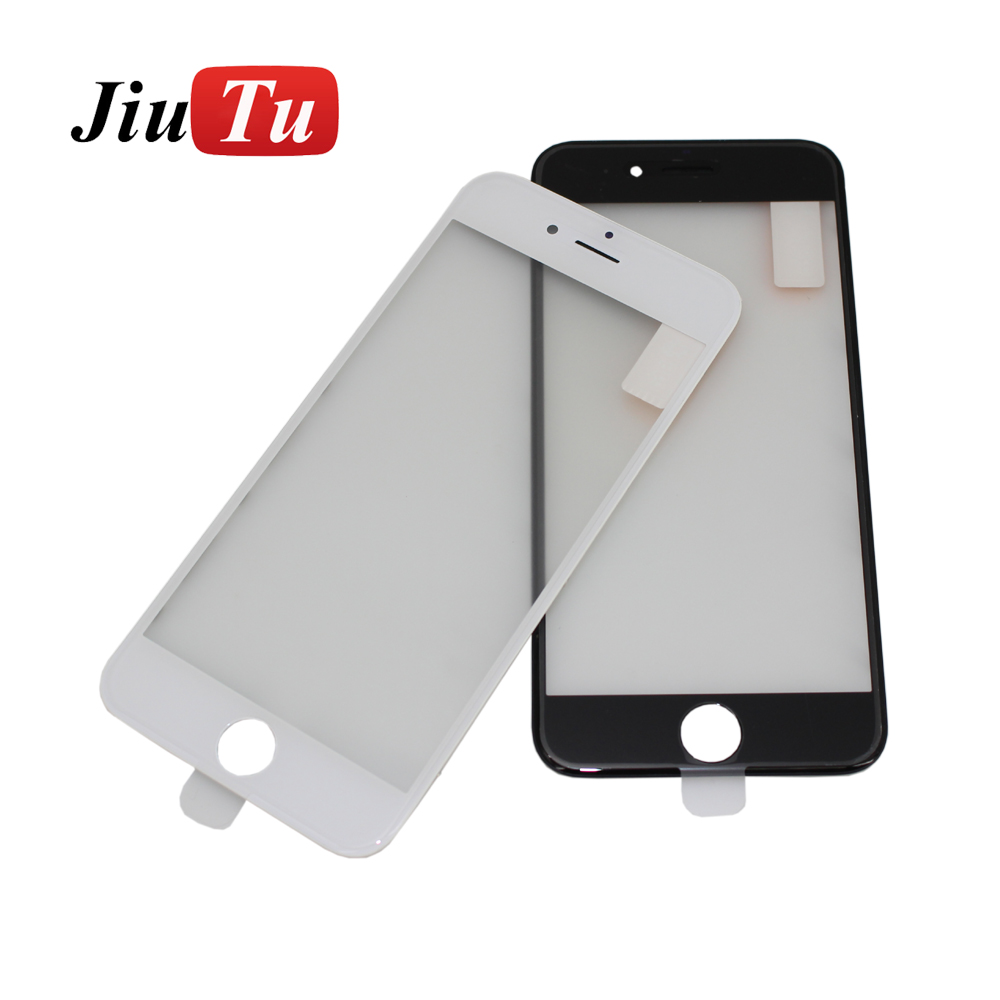 Top For iPhone 6 4.7inch LCD Screen Cold Press Front Panel Glass + Bezel Frame + OCA Film