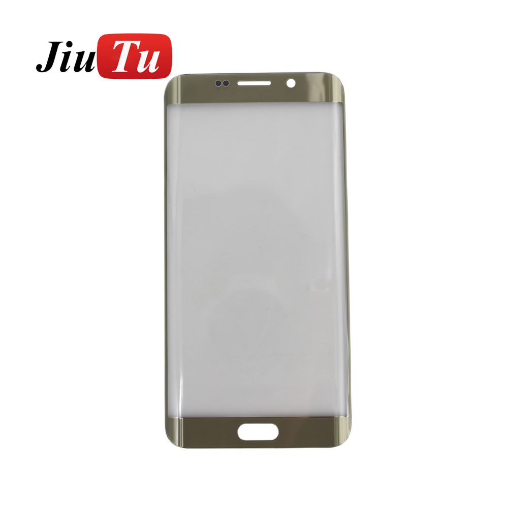 Replacement for s7 edge mobile phone repair parts front screen glass , touch screen glass for s7 edge G935F G935A G935P lens