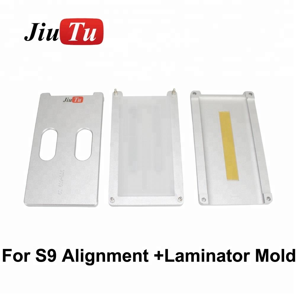 New Edge Alignment Molds OCA Vacuum Laminating Molds For Samsung S9 S8 S7 Edge S6 Edge Plus Broken LCD Screen Refurbishment