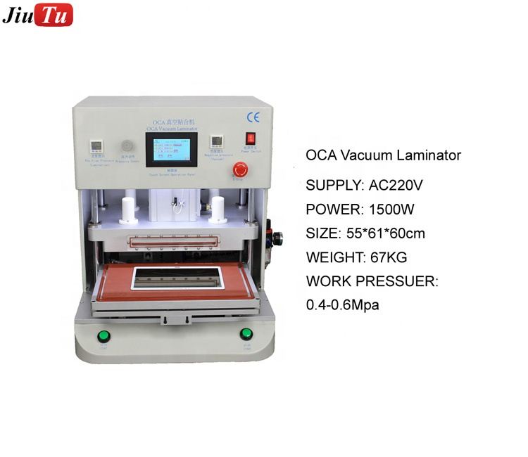 16inch Vacuum Laminator Machine for Tablets for ipads and phones