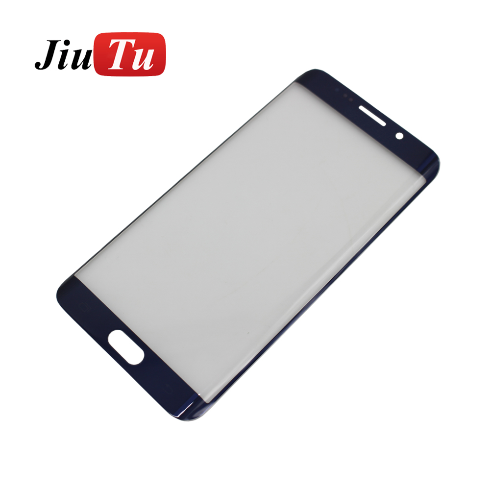 Jiutu Tested Touch Screen Digitizer Outer Panel Front Glass with Flex Cable For Samsung Galaxy S6 edge/ S6 edge plus/S7 Edge Fix
