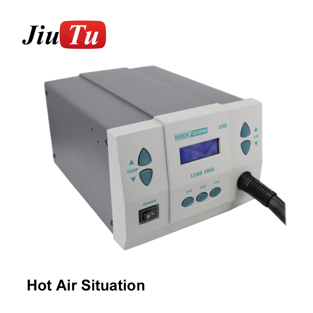 The latest hot gun melting machine with hose for soldering and welding