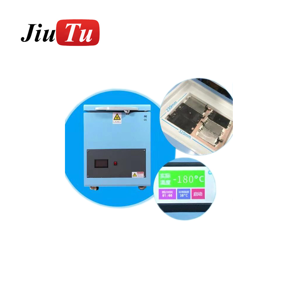 Universal Automatical Mobile Phone 1000W Lcd Screen Glass Separating Fast Frozen Freezing Separator Machine