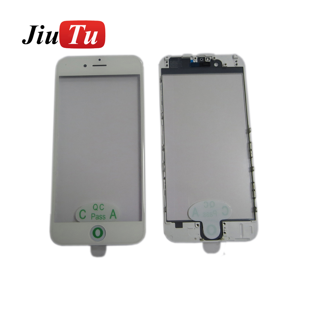 Fast delivery 3 In 1 Front Outer Glass - Newest Glass Assembly For 7g 7 Plus Series Glass + Cold Press Frame + OCA Film For Phone LCD Screen Refurbish – Jiutu