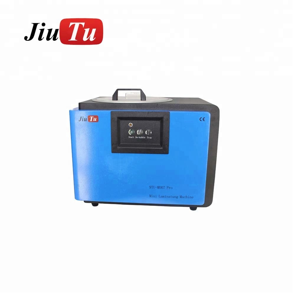 Jiutu OLED EDGE screen 6 in 1 Vacuum OCA Lamination & Air Bubble Removing LCD repair machine for Iphone all and for Samsamg