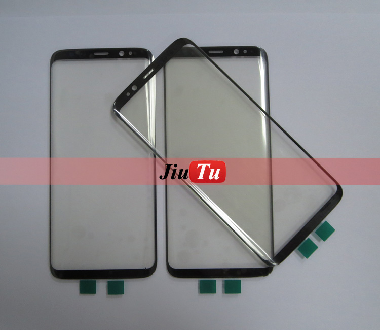 Wholesale White Black Replacement Front Outer Glass Lens Outer Touch Screen for S8 S8 plus
