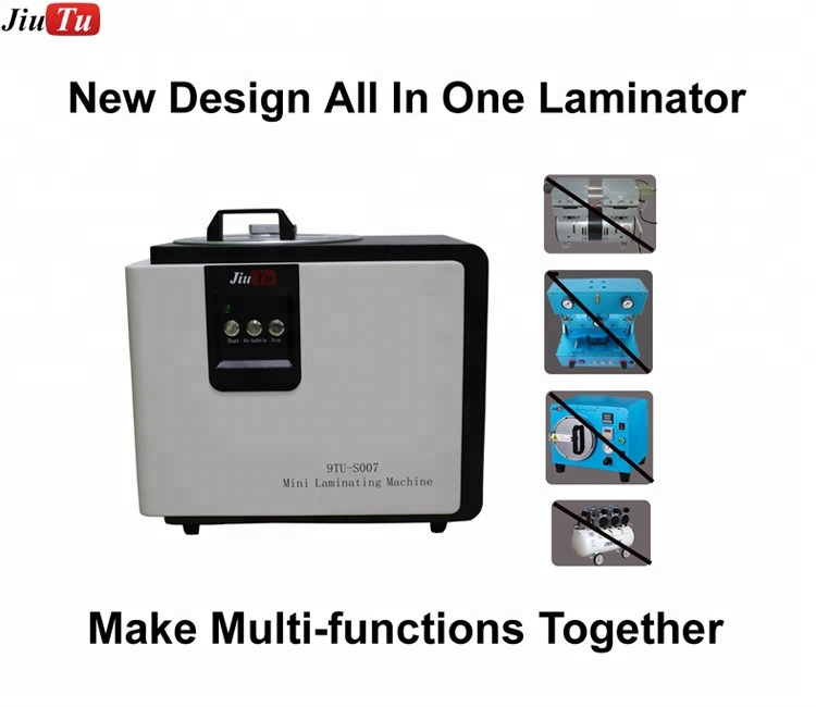 For iPhone 6S 6S Plus 6.6 inch 2 in 1 OCA Vacuum Laminating + Debubbler with Bubble Removing Function for 7G 7 Plus Fix S007
