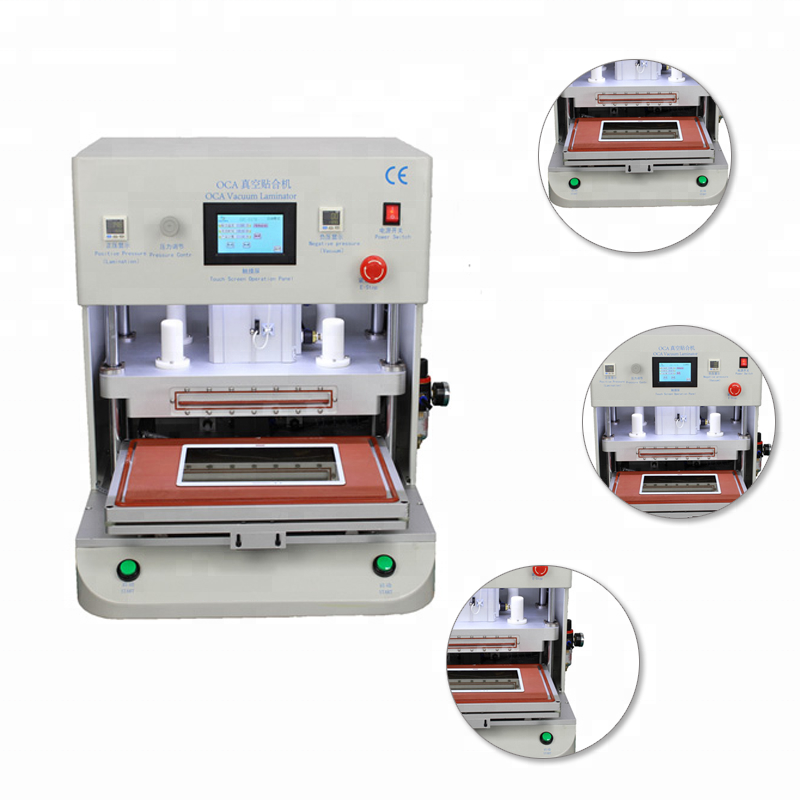 Universal Automatic Lcd Screen Glass Replace Vacuum Oca Laminating Machine
