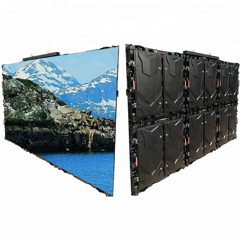 New Fashion Design for Bubble Removing Autoclave - Waterproof Rental Outdoor Indoor 960X960 Magnesium Alloy Smd Led Video Wall Display Cabinet – Jiutu