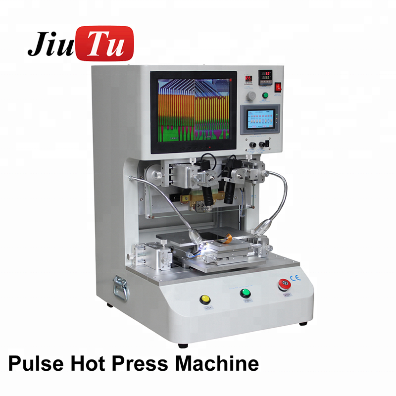 Electrical Accurate Digitizer Pulse Pressure AC 220V 50HZ Lcd Panel Touch Screen Flex Cable Repair Machine