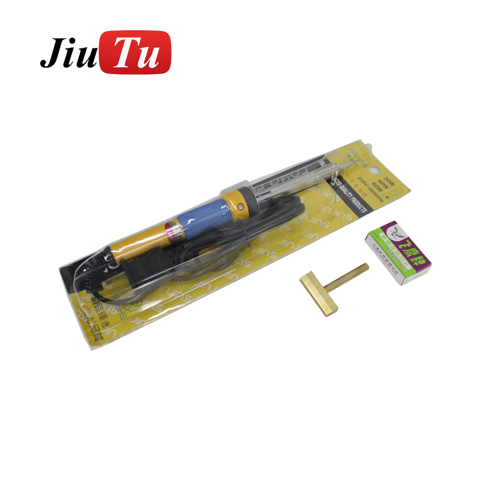 Jiutu LCD Clean Tool to Remove Residue OCA Adhesive Polarizer Film of LCD for iPhone For Samsung Electric Soldering Iron Featured Image