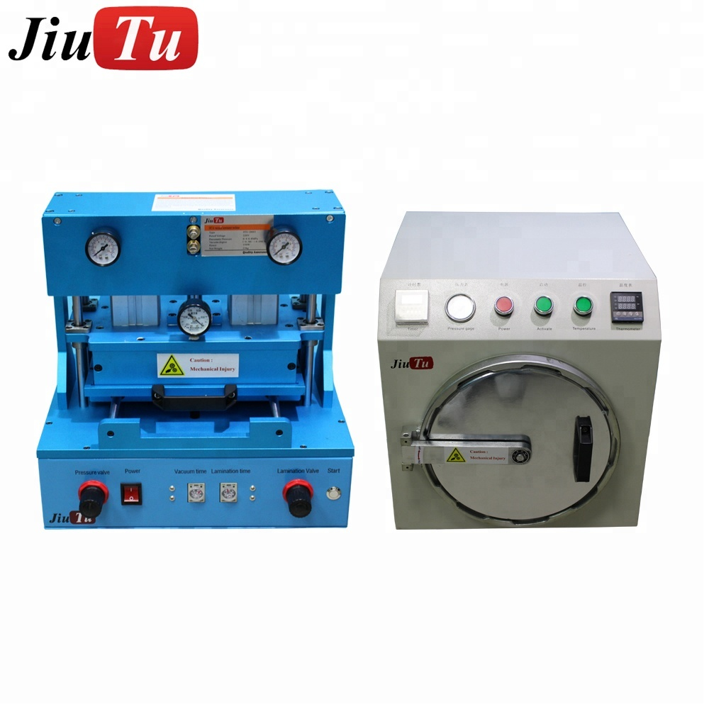Jiutu OCA Vacuum Laminator & Debubble Machine for Samsung Edge LCD Screen Repair