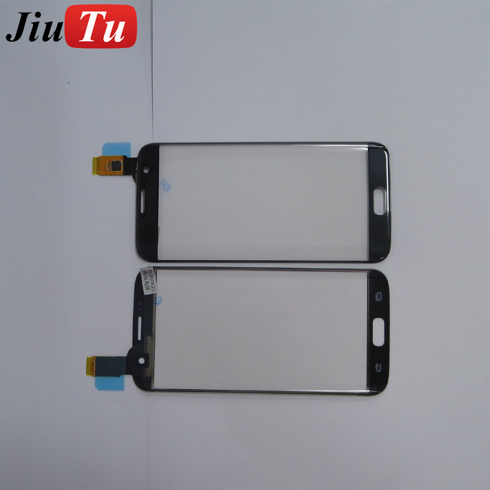 for Samsung S7 Edge Repair Parts OLED Screen Front Glass With Touch
