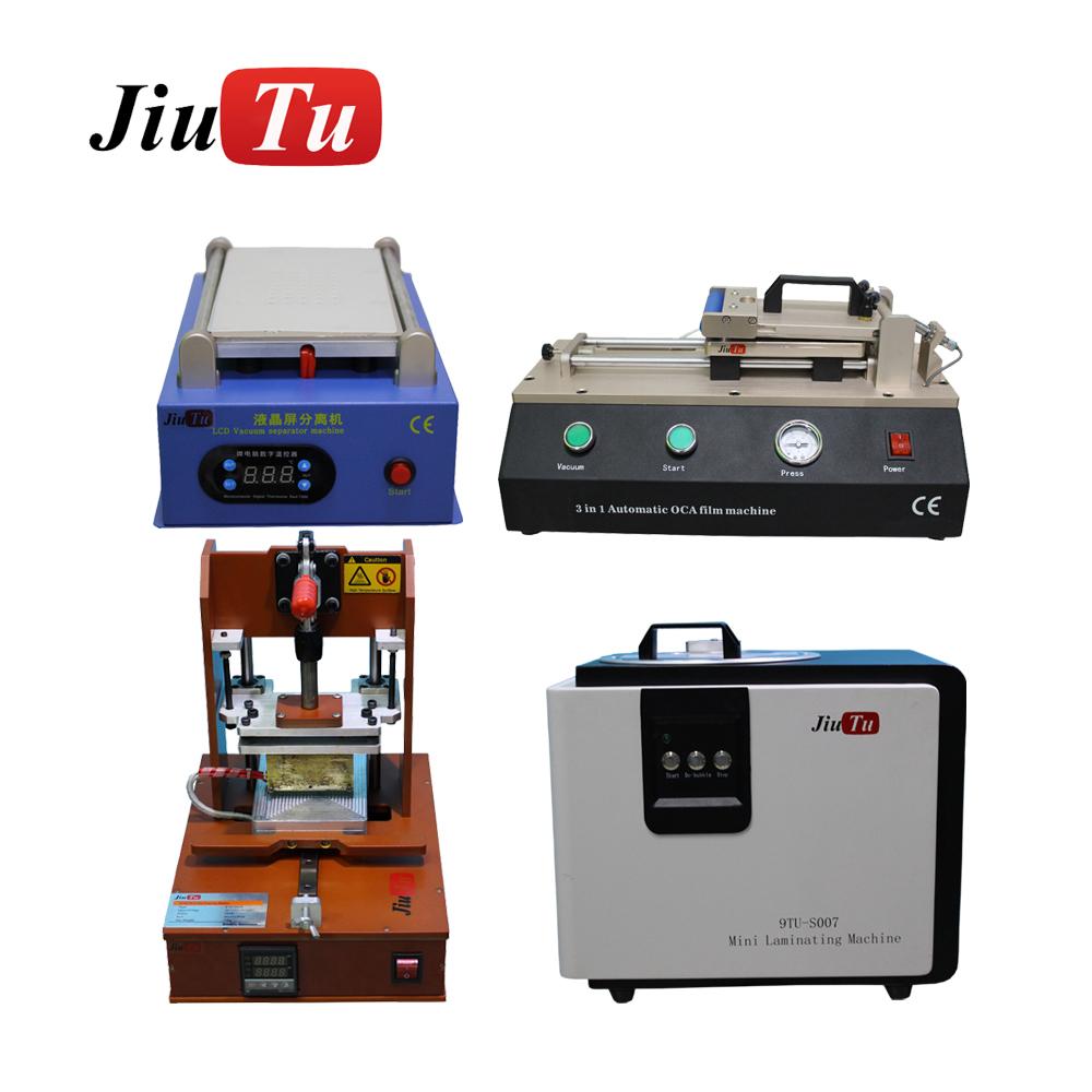Mobile Phone 3pcs/Set of Repair Device 5 in 1 Machine & Jiutu OCA Vacuum Laminator Debubble & Automatic OCA Laminating Machine