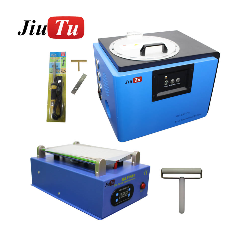 High Efficiency Jiutu New Laminating Machine Manual LCD Separator For Cracked iPhone 6S 6S Plus under 8 inch Cracked LCD Fix