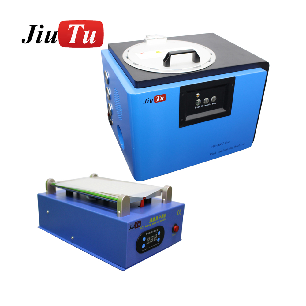Jiutu Oca Vacuum Oca Laminating Machine Lcd Repair Set Built-In Vacuum Pump Oca Film Laminating Machine For Iphone Samsung Fix D