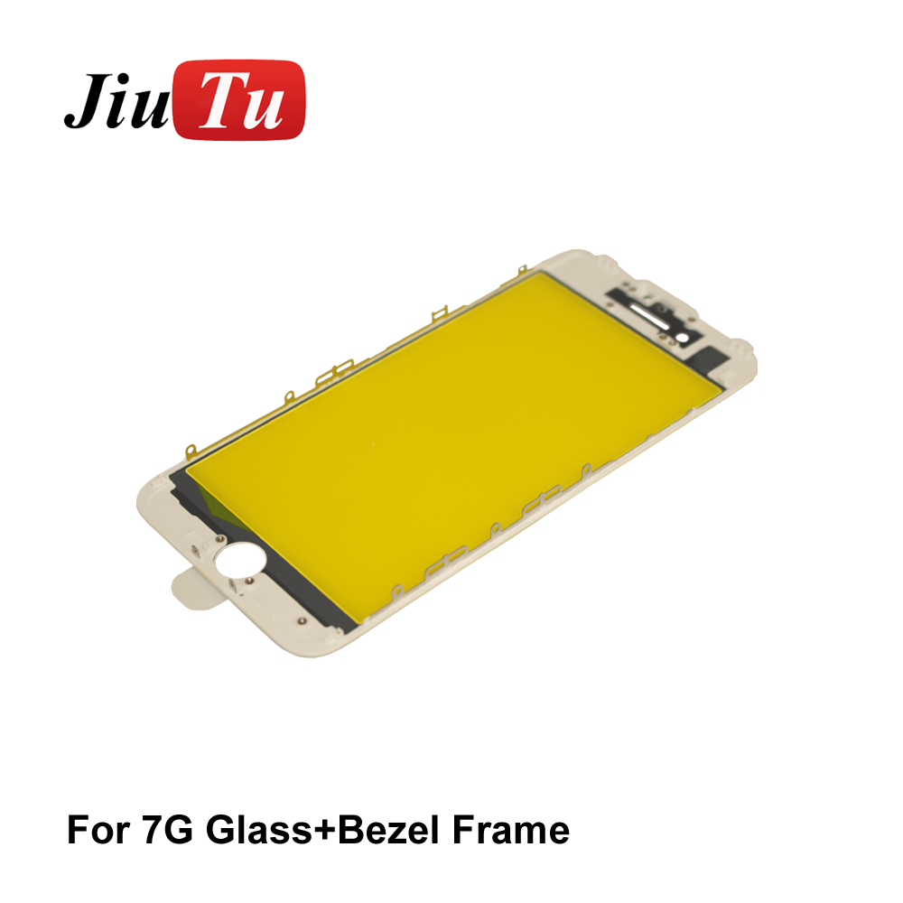 High Quality For Iphone 6S Front Glass With Cold Pressed Frame Bezel Together