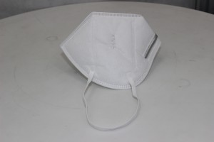 KN-95 Mask Filter Respirator Fold Folding Face KN95 Mask 3 layers