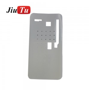 For iPhone X XS Heated Adsorption Positioning LCD Display Touch Screen Glass OCA Separating Rubber Pad For Mobile Phone Repair