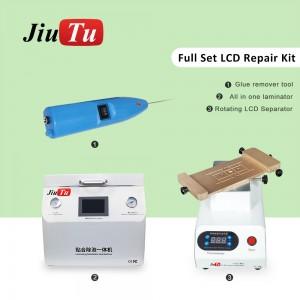 For Huawei Edge LCD Repair Rotate LCD Separator 15Inch Screen Automatic OCA Laminating Debubble Machine Set