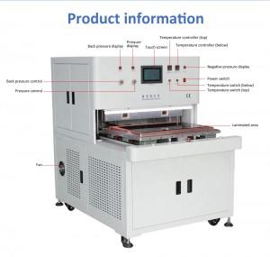 600*900mm OCA COF OCF SCA Vacuum Laminator Machine For Keyboard Sensitive Touch Digitizer Glass Bonding Bus Screen Repair