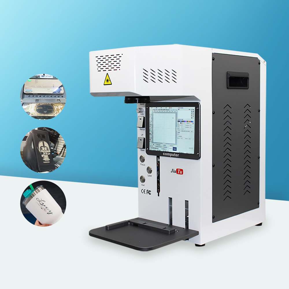 Automatic Laser Machine For iPhone Back Glass Removal 12 8 8P X XR 11Promax Rear Glass Separation Engraving Marking Machine Featured Image