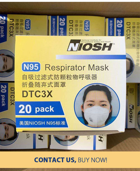 FDA CE Approved Face Mask KN95 Protection PM2.5 Mask Earloop Featured Image