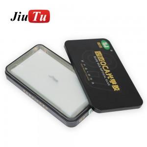 50pcs/lot OCA Film For iPhone LCD Screen Double Side Sticker Digitizer Glass Repair OCA Glue Film
