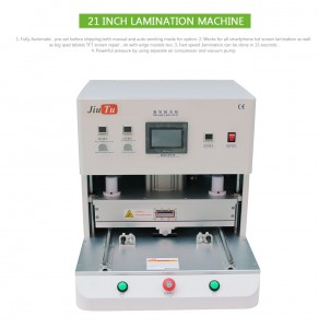 New Arrive OCA Lamination Machine Vacuum For iPad 21inch Curved And Straight Screen