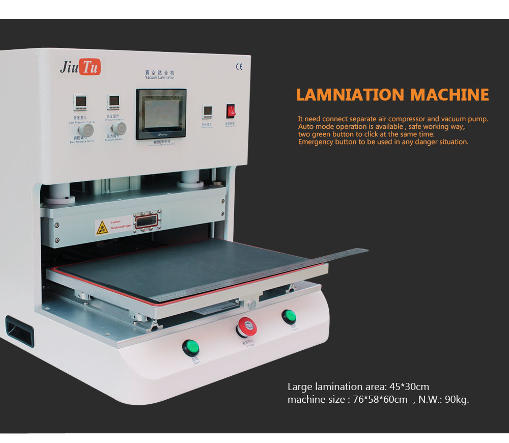 Newest 21inch OCA Vacuum Laminating Machine For iPad/Tablets LCD Screen Repairing Featured Image