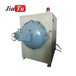 High Pressure Heating ITO+CG, FILM+CG, CTP+LCD Module Defoaming Machine Bubble Removing For Aircraft TV Bus Screen Repair