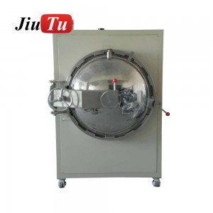 Optical Bonding For Flexible Touch Screen And Glass Up to Largest Size 800*1200mm Autoclave Bubble Removing Machine
