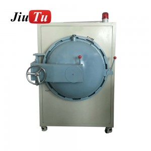 China Factory OCA OCF SCA Big Bubble Removing Machine For Keyboard Touch Digitizer LCD Glass Bonding Big Screen Fix 500x800mm