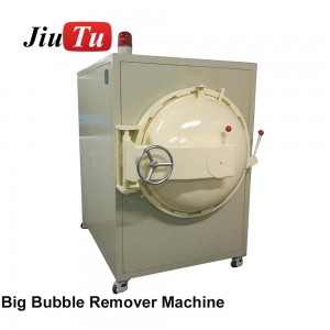 Jiutu OCA COF SCA Large Debubble Remover Machine 600x900mm For ATM Screen Face Recognition Sensitive Touch Glass Bonding