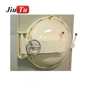 Jiutu OCA COF SCA Large Debubble Remover Machine 600x900mm For ATM Screen Face Recognition Sensitive Touch Glass Bonding