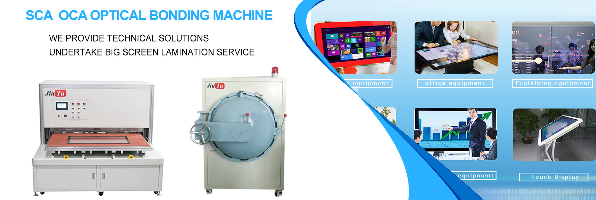 Optical Bonding Machine