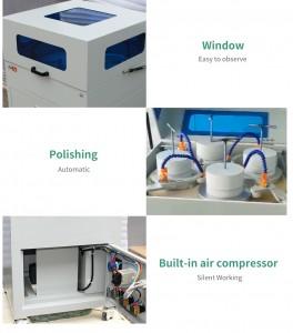 Polishing Machine 4 Head 8 Head Working Station For iPhone Samsung Oneplus LG Huawei iWatch Refurbish Phone Grinding Machine
