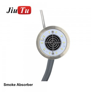 Smoke Cleaner Knob Adjustment Fume Extractor Soldering Smokimg Absorber Air Purifier Machine Dust Removal Harmful Gases Removal