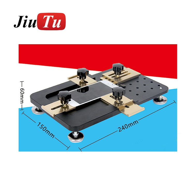 Gold & Black Universal Metal Mould LCD Screen Mold Jig Holder Clamp/Chuck For Mobile Phone OCA Laminating Featured Image
