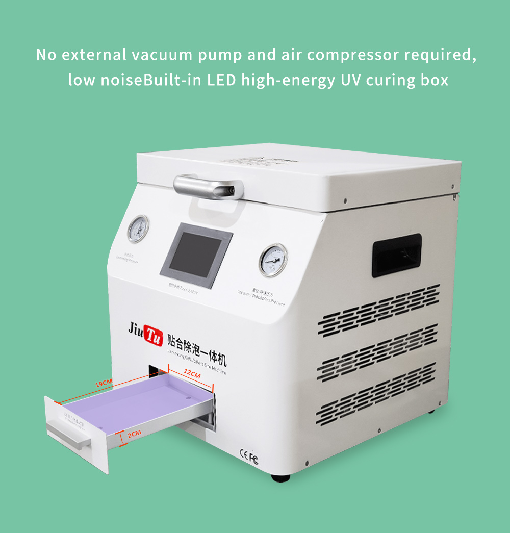 15 Inch All in One LCD Repair Machine OCA Laminator With UV Light For iPhone & Samsung Bubble Removing Featured Image