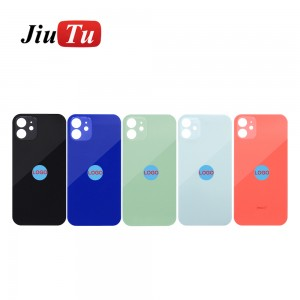 OEM Back Glass For iPhone 11 11Pro Max X 8 Plus XS XSMAX Rear Cover With Big Hole